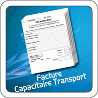 "Facture ""Capacitaire de transport"""
