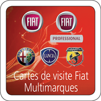 Cartes De Visite Multi Marques FIAT
