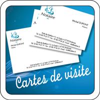 Cartes De Visite Notaire