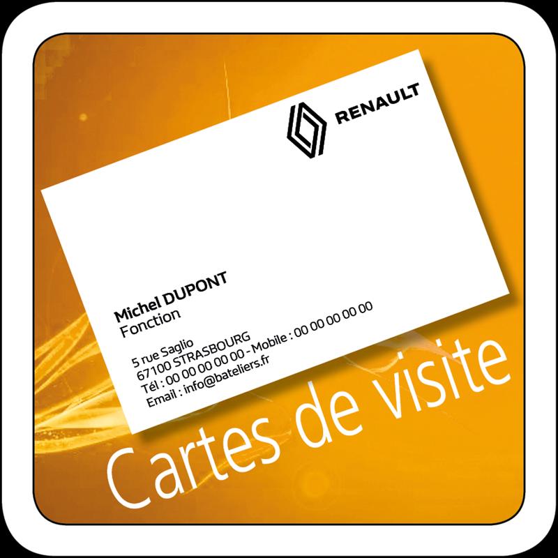 Carte De Visite Renault