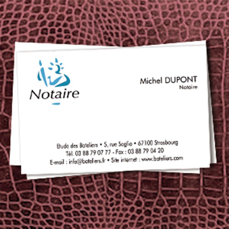 Carte De Visite Notaire 8